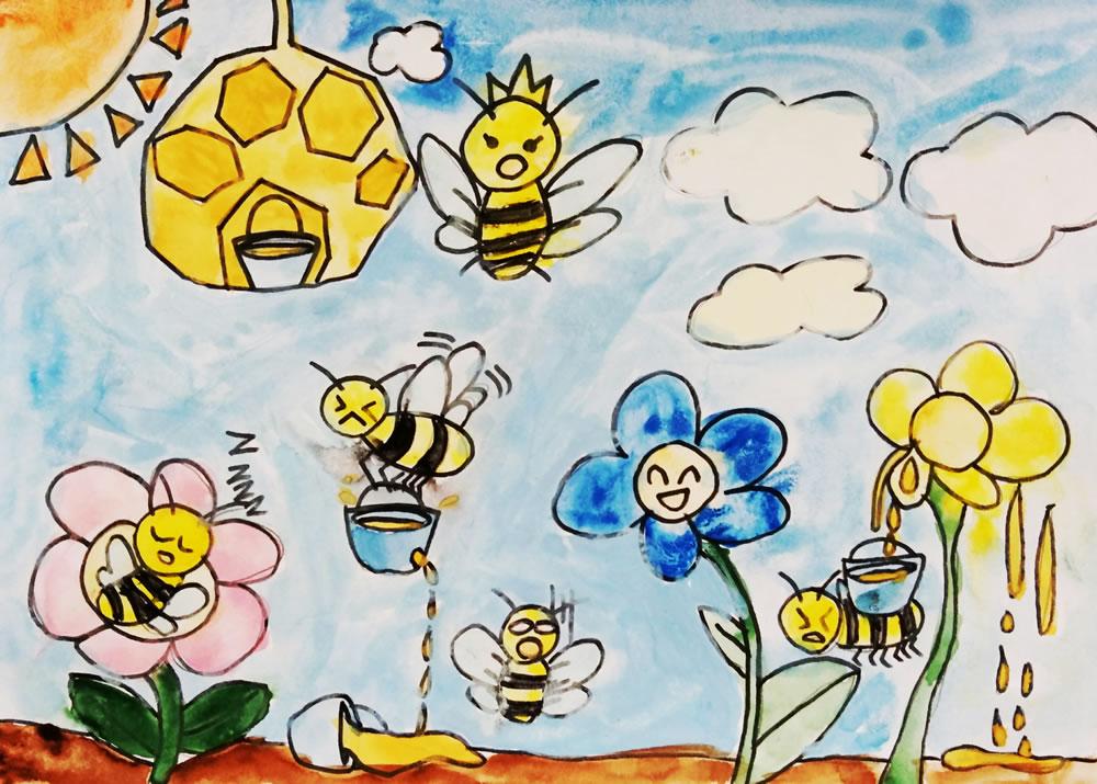蜂の暮らし