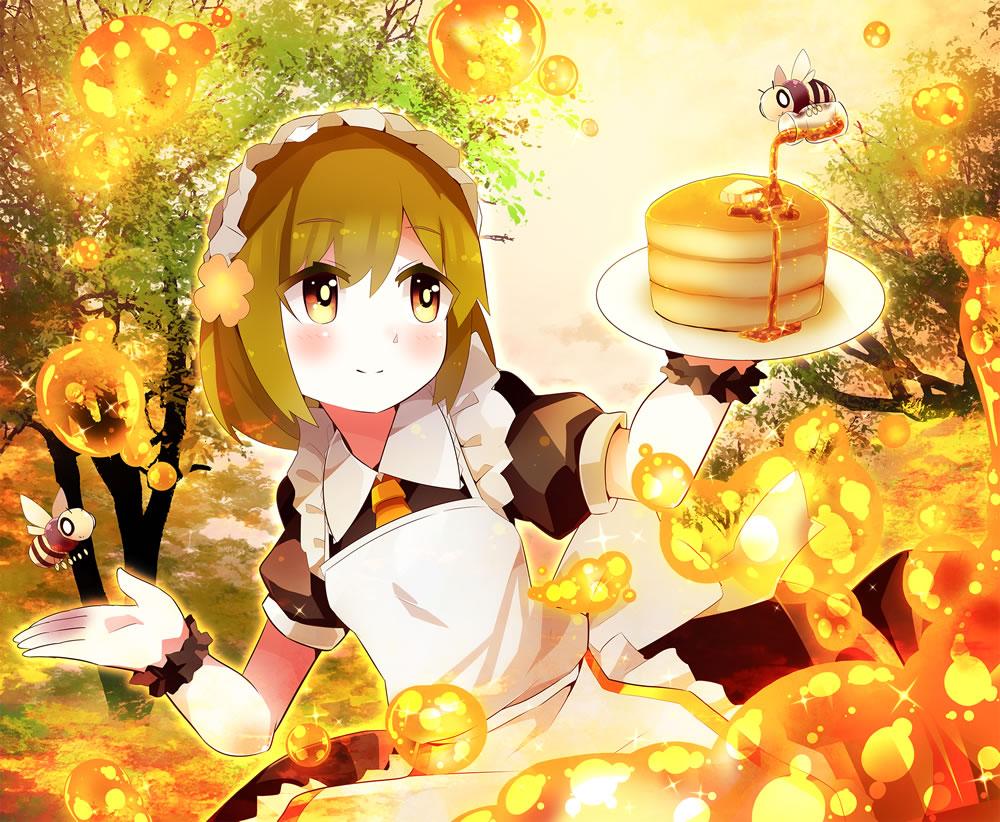 森のハニーホットケーキ屋さん